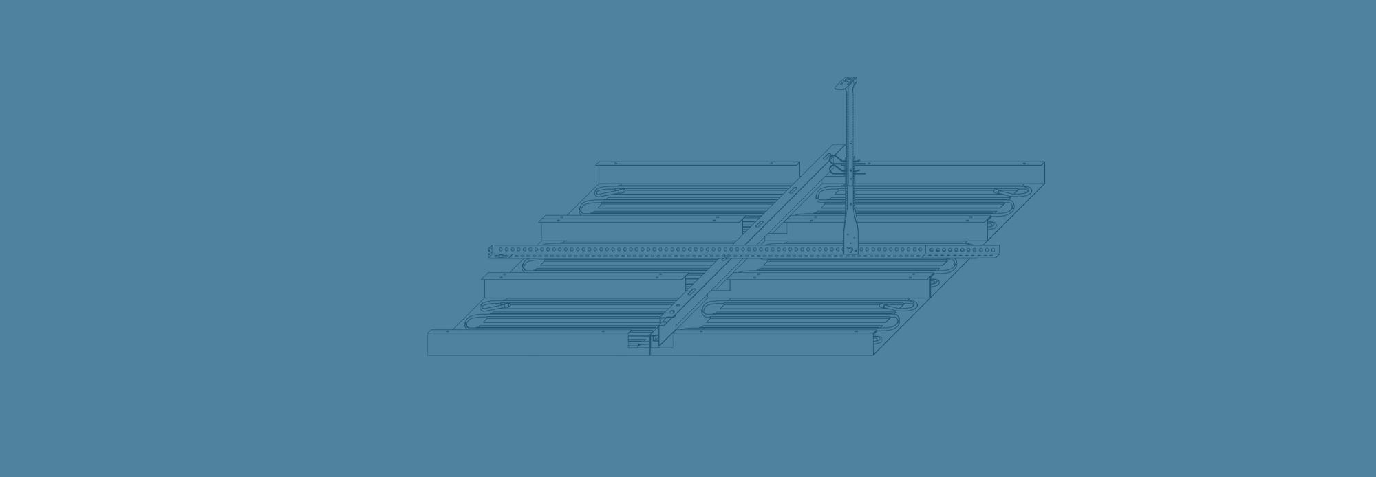 Kühldeckensystem – Einhängedecke