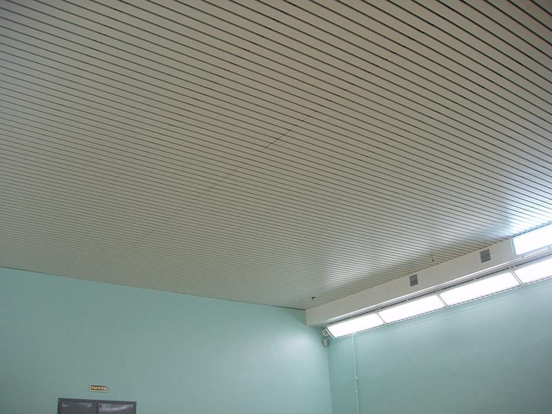 Ballwurfsichere Stahl - Paneeldecken DW 80/20