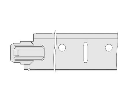 T-Schienenausführung System FDS