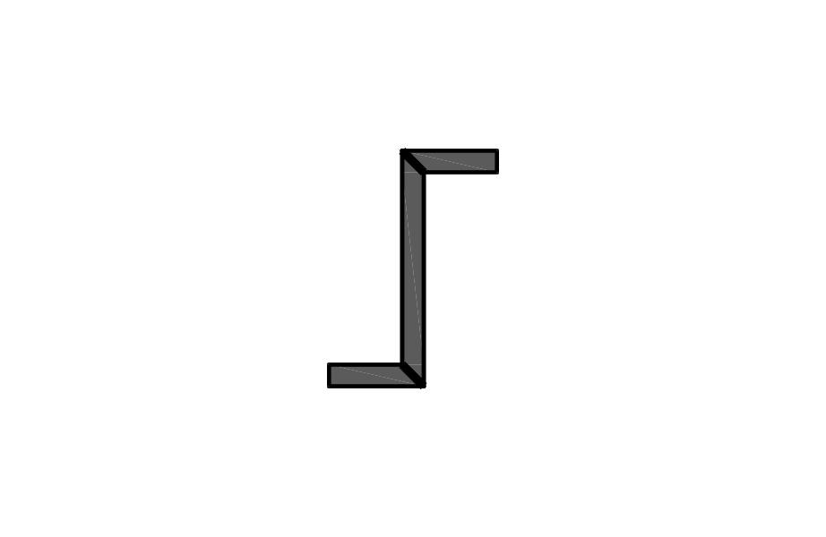 verleimte/ unverleimte Z-Winkel 90°