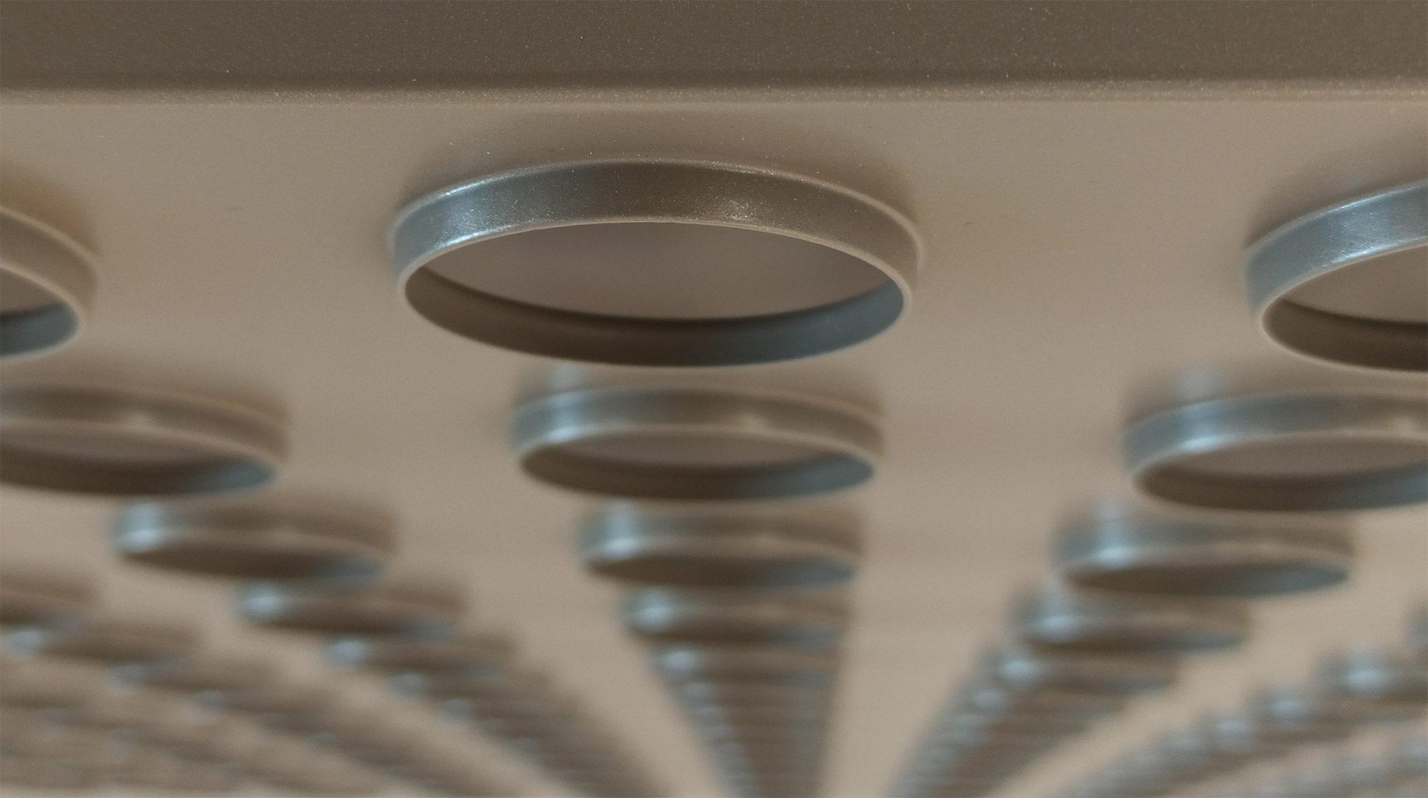 GEIPEL<sup>®</sup>дизайнерский потолок с глубокими отверстиями